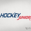 Signature header for a hockey sports magazine. Signature pour un magasine sportif sur le hockey.