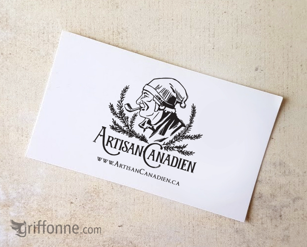 Logo design for handmade products. Vintage look with custom hand drawn typography. Design de logo pour un atisan avec typographie personnalisée dessinée à la main.