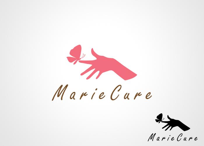 Logo design for a manicure parlor. Design de logo pour un salon de manucure.