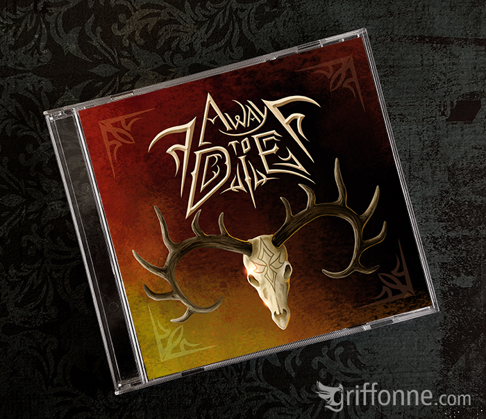CD cover design for a metal band. Design de pochette de CD d'un groupe de metal.