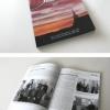 Souvenir book design. Design de livre souvenir pour le 100e anniversaire du village de Dupuy.